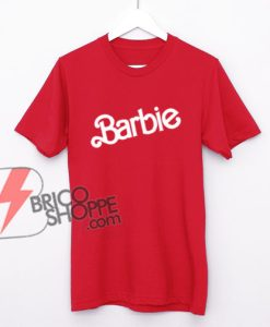 Vintage-Barbie-logo-Shirt---Funny's-Shirt-On-Sale