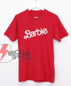 Vintage-Barbie-logo-Shirt---Funny's-Shirt-On-Sale