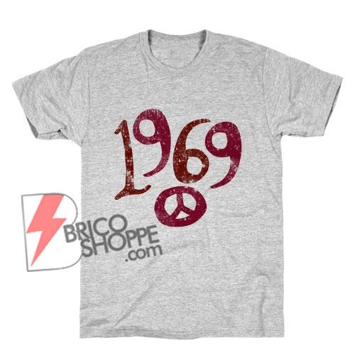 Vintage Shirt - Vintage 1969 Woodstock T-Shirt - Funny's Shirt On Sale