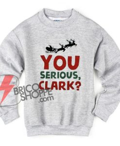 You serious clark Sweatshirt - Christmas Vacation - Funny's Sweatshirt - Christmas Gift