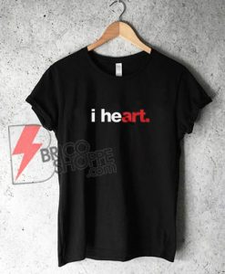 i heart T-Shirt - Funny's Shirt On Sale