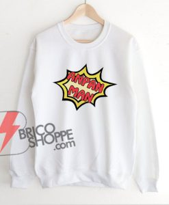 ANPAN-MAN-Sweatshirt---Funny's-Sweatshirt-On-Sale