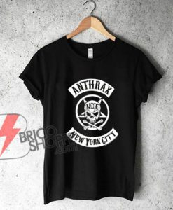 Anthrax New York City Band T-Shirt - Funny's Shirt On Sale