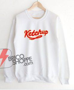 Funny-Ketchup-Sweatshirt---Funny's-Sweatshirt--On-Sale