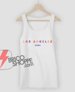LOS-ANGELES-1984-Tank-Top---Funny's-Tank-Top-On-Sale