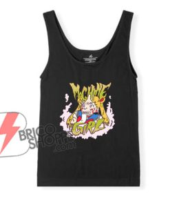 Sailor-Moon-Tank-Top---Machine-Girl-Tank-Top---Funny's-Tank-Top-On-Sale