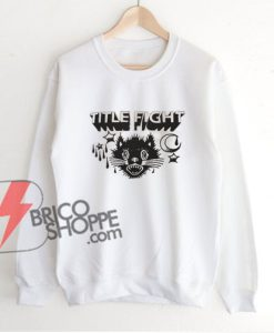 Title-fight-cat-hipster-Sweatshirt---Funny's-Sweatshirt-on-Sale