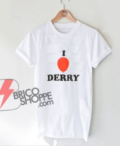 Balloon-I-Love-Derry-T-Shirt----Funny's-Shirt-On-Sale