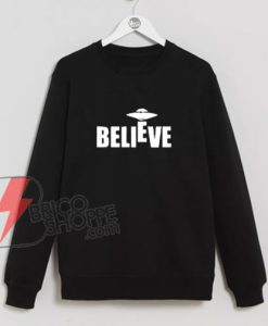 Believe-UFO-Sweatshirt