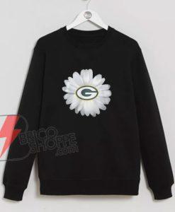 Green-Bay-Packers-Daisy-Sweatshirt---Funny's-Sweatshirt-On-Sale