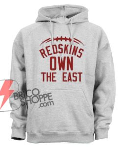 Redskins-Own-the-east-Hoodie---Funny's-Hoodie-On-Sale