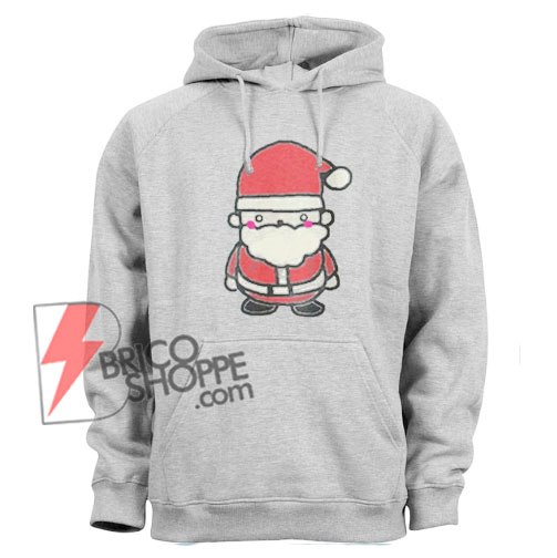 Vintage Santa Hoodoe - Funny Christmas Hoodie On Sale - Christmas Sale