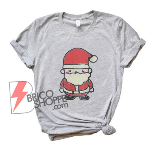 Vintage Santa T-Shirt- Funny Christmas T-Shirt On Sale - Christmas Sale