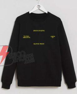 Jesus Is King Kanye West Sweatshirt - Funny's Kanye West Sweatshirt - Funny's Sweatshirt On Sale
