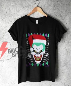 Joker Santa Christmas Shirt - Funny Christmas Shirt - Joker Shirt