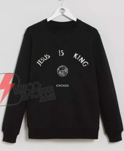 Kanye-West-Jesus-Is-King-Chicago-Seal--Sweatshirt