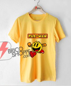 Pac Man Funny Shirt - Funny Shirt On Sale