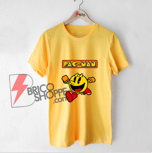 Pac Man Funny Shirt - Funny Shirt On Sale