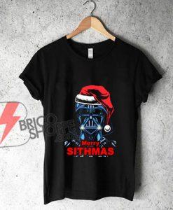 Merry Sithmas Darth Vader - Funny's Star Wars Shirt - Funny's Shirt On Sale