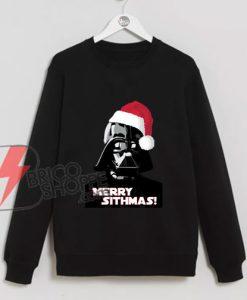 Merry-Sithmas-Darth-Vader---Sweatshirt