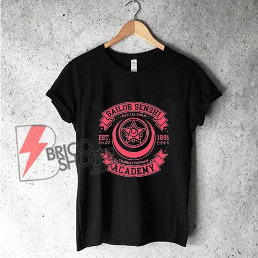 SAILOR SENSHI ACADEMY T-Shirt – SAILOR MOON Shirt On Sale