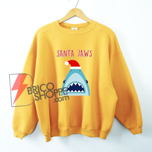 SANTA JAWS Sweatshirt - Funny' Sweatshirt