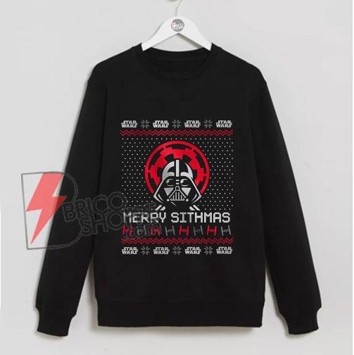 Star-wars-Sweatshirt---Merry-Sithmas-Sweatshirt---Christmash-Sweatshirt---funny-Sweatshirt