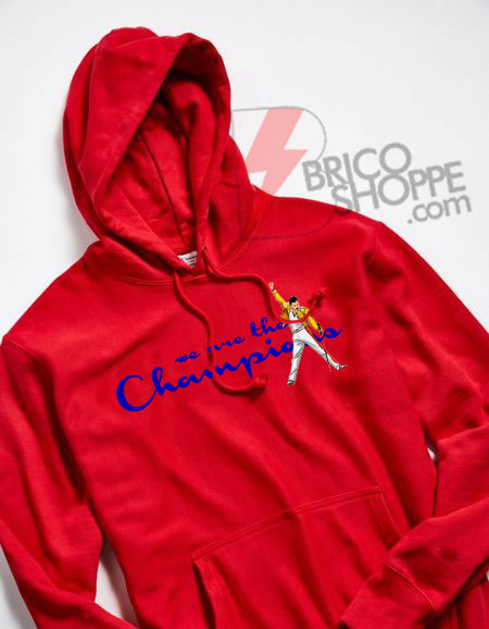 We Are The Champions Queen Freddie Mercury Hoodie - Freddie Mercury Hoodie - Queen Band Hoodie