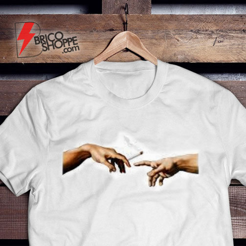 the creation of adam cigarette T-Shirt