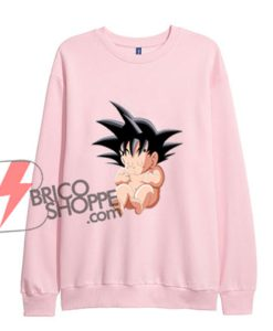 Baby Sungoku- Hoodie - Dragon Ball Sweatshirt- Funny's Sweatshirt On Sale