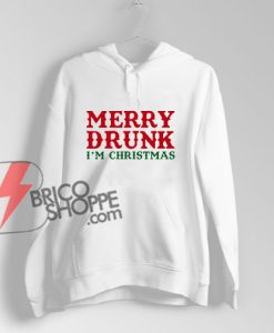 Merry-Drunk-I'm-Christmas-Hoodie