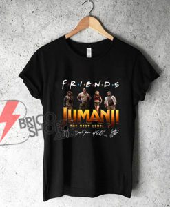 Official Friends Jumanji The Next Level Signatures shirt - Funny's Shirt On Sale