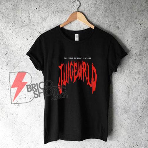 THE-WRLD-DOMINATION-TOUR-JUICE-WRLD-T-Shirt---Funny's-Shirt-On-Sale