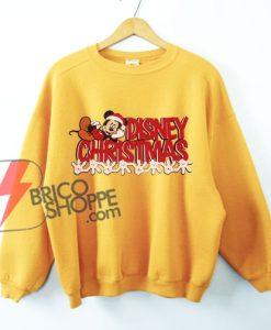 Vintage-Disney-Christmas---Vintage-Mickey-Mouse-Christmas---Funny's-Disney-Christmas-Sweatshirt---Funny's-Sweatshirt