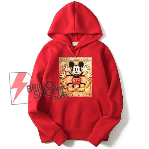 Vintage-Mickey-Mouse---Vitruvian-Mickey-Mouse---Funny's-Mickey-Mouse-Hoodie---Parody-Leonardo-da-Vinci-Hoodie
