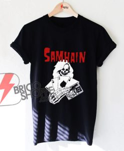 vintage Samhain shirt - SAMHAIN Death Cards Shirt - Funny's Shirt On Sale