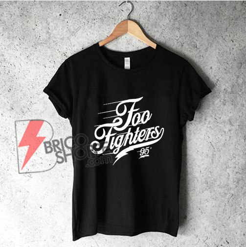 FOO FIGHTERS Logo T-Shirt - Funny's Shirt On Sale