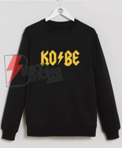 KOBE Sweatshirt - Kobe Bryant Sweatshirt - Funny Sweatshirt On Sale