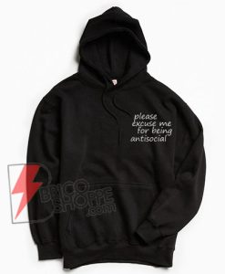 Roddy-Ricch---please-excuse-me-for-being-antisocial-Hoodie---Roddy-Ricch-Hoodie----Funny-Hoodie
