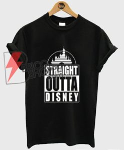 STRAIGHT-OUTTA-DISNEY-T-Shirt---Disney-Vacation-Shirt---Funy's-Disney-Shirt