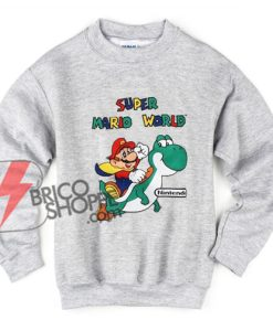 Super Mario World Sweatshirt - Funny's Sweatshirt On Sale