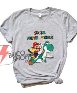 Super-Mario-World-T-Shirt---Funny's-Shirt