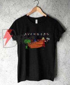 The Avengers Friends T-Shirt - Parody Friends TV Show - Parody Avenger T-Shirt - Funny's Shirt On Sale