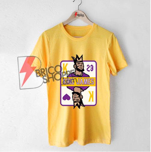 The LA King Shirt - King James Shirt - Funny Shirt On Sale