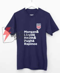 United States Women's National Soccer Team Shirt - Funny Shirt On Sale