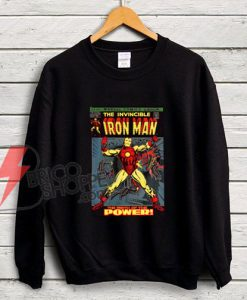 the-invincible-IRON-MAN---Vintage-IRON-MAN-Sweatshirt---Funny's-Sweatshirt-On-Sale