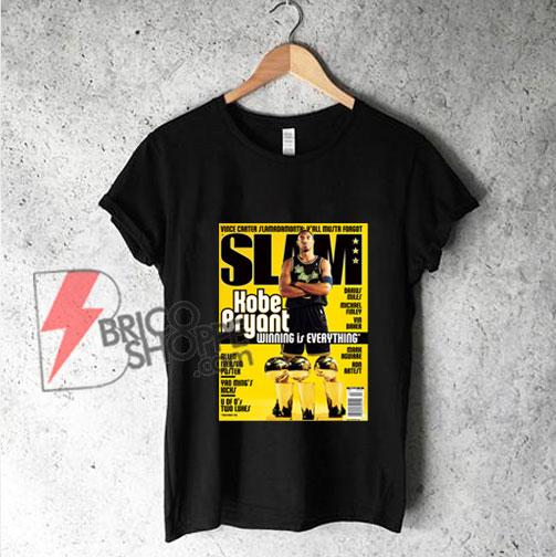 SLAM Kobe Bryant T-Shirt - Funny Shirt