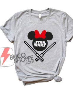 STAR WARS Minnie Mouse Shirt - Funny Star Wars Shirt - Funny Disney Shirt
