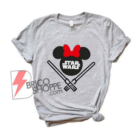 STAR WARS Minnie Mouse Shirt - Funny Star Wars Shirt - Funny Disney Shirt
