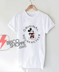 Vintage Disney Shirt - Mickey Mouse Mouseketeer Shirt - Funny Disney T-Shirt